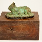 Mara or Patagonian Hare, bronze, 2007. Studied from life at the National Zoo.