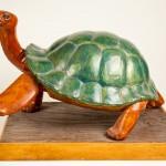 Tortoise, Plaster, 23x16x16, 2005.