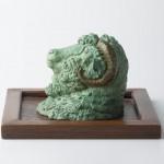Ram's Head, bronze, 6x5x5, 2010.