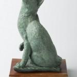 Cat, bronze, 12.5x7x5, 1999.