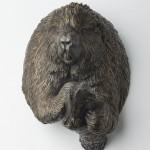 Porcupine, bronze, 17x11.5x10, 2011.